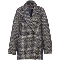 Oversized Tweed Men's Jacket | Moda Operandi (€1.176) ❤ liked on Polyvore featuring men's fashion, men's clothing, men's outerwear, men's jackets, mens double breasted jacket, mens jackets and mens tweed jacket