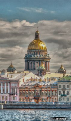 St. Isaac's Cathedral ~ St. Petersburg, Russia.