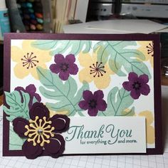 Kristin's Cards and Creations: Botanical Blooms