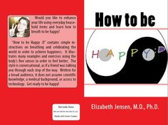 One cover for How to be Happy.  CS cover creator wouldn't accept it because the yin-yang was cut off.  I thought it looked ok, but have been working on another one.