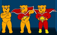January can be rubbish. So here's a picture SuperTed. Wow this is disturbing.
