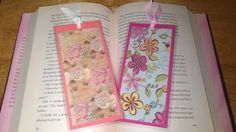 Paper bookmarks, handmade by me =)