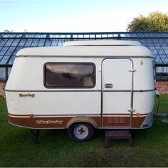 Tiny, innocent caravan, but inside