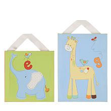 "Living Textiles Baby Play Date Canvas Art Set - Living Textiles - Babies ""R"" Us"