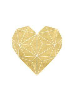 geometric heart - Pesquisa Google