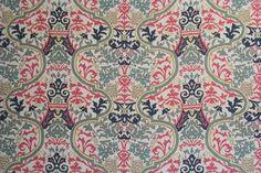 Blue, Pink & Green Print_Dogwood Fabrics