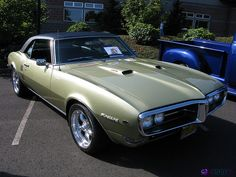1968 Pontiac Firebird Coupe The first generation was one of the best all-around muscle cars on the market. As it was until just a few years ago, the original Firebird was a close cousin to the Chevrolet Camaro, and the 1968 model offered a range of engines, including a roaring 400-cubic-inch V8 good for 335 horsepower.