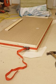 Acoustic Panels - DIY - SR, I made mine with soundboard, a frame,