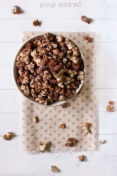 giroVegando in cucina: Pop corn al cacao e cannella