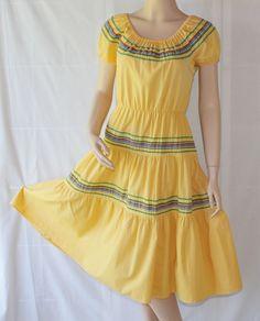 50s Squaw Dress