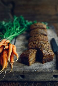 From The Kitchen: Mr McGregor's Mini Carrot Loaves