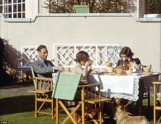 King George VI, entertains his daughters H. Princess Elizabeth (later H. Queen Elizabeth II) and H. Princess Margaret (later H. Princess Margaret, Countess of Snowden.) in this still of a home video, filmed c. Hm The Queen, Her Majesty The Queen, Princess Elizabeth, Queen Elizabeth Ii, Queen 90th Birthday, Duchess Of York, Duchess Kate, Monaco Royal Family, British Royal Families