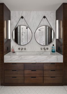Modern Bathroom in New York, NY by Tamara Eaton Design
