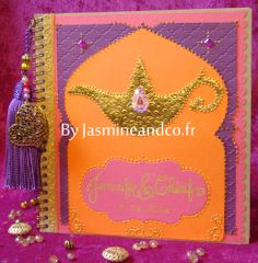 Moroccan wedding livre d'or mariage oriental