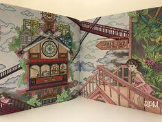 The Time Garden Coloring Book Daria Song #TheTimeGarden #dariasong Ghirardelli Chocolate Factory  #prismacolor premier