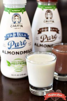 """""""Reminiscent of good old-fashioned chocolate milk and liquid vanilla ice cream in flavor, these single-serve beverages are a creamy treat or post-workout reward,"""" says GoDairyFree.com."""