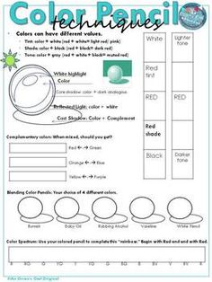 Image result for shading worksheets 712 Art class ideas