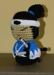 crochet samurai