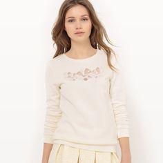 Cotton Crew Neck Sweatshirt MADEMOISELLE R | La Redoute Mobile
