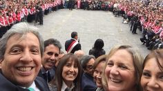Manuel Pulgar-Vidal publicó 'selfie' que tomó durante discurso de Ollanta Humala