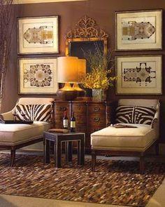 Living room interior design ideas and home decor by John Richard Website Living Room Decor, Living Spaces, Living Colors, British Colonial Decor, Interiores Design, Home And Living, Decoration, Family Room, Interior Decorating