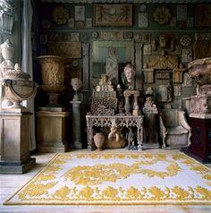 Alexander McQueen rug.