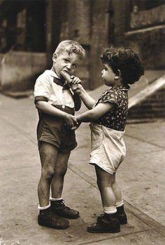Simple joys - photo by Fred Stein