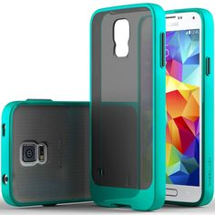 Amazon.com: Galaxy S5 Case, Caseology [Sheer Grip] Samsung Galaxy S5 Case [Turquoise Mint] Slim Fit Skin Cover [Shock Absorbent] Armor Bumper Galaxy S5 Case [Made in Korea] (for Samsung Galaxy S5 Verizon, AT&T Sprint, T-mobile, Unlocked): Cell Phones & Accessories