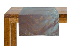 Two tone Floral Dewdrops Table Runner by Suraaj Linens