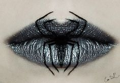 Get spooky with these Halloween-themed lips