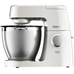 Buy Pearl Kenwood Chef XL Sense Special Edition Food Mixer from our Food Mixers range at John Lewis & Partners. Kenwood Chef, Robot Kenwood, Fruit Cake Mix, Blenders, Brushed Stainless Steel, Small Appliances, Drip Coffee Maker, Keurig, Mixer