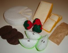 Brie, Crackers and Fruit-Felt