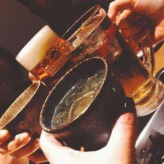 #🍻🍻#家族 #もつ鍋 #肉 #飲み #はしご #福岡  お父さんお母さん さくらが来てくれた〜🛳👨👩👧 楽しかったなぁ〜🕺 福家はおもろいわ。 弟とロウはお留守番👱🏽🐶 ロウたん丸まってかわいいいい