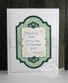 A Path of Paper: Inspired Stamps Scripture