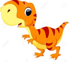 Illustration of Cute baby dinosaur cartoon vector art, clipart and stock vectors. Dinosaur Printables, Dinosaur Crafts, Dinosaur Party, Dinosaur Birthday, Dinosaur Dinosaur, Cartoon Cartoon, Cartoon Dinosaur, Clipart Baby, Dinosaur Images