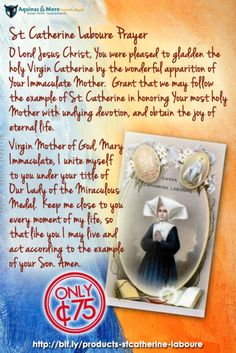 St. Catherine Laboure Prayer