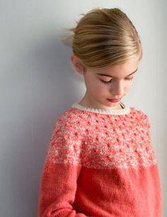 Ravelry: Bobble Yoke Sweater pattern by Purl Soho
