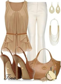 Flowy and beige