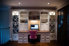 Love the home office set up.  office of online photography workshop instructor Lynne Rigby