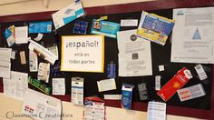 Classroom Creativities: Class Project: Spanish Is All Around Us... Students bring in something with Spanish written on it.