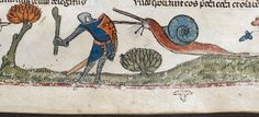 Credit: The Britsh Library A detail from the Smithfield Decretals, southern France (probably Toulouse), with marginal scenes added in Englan...