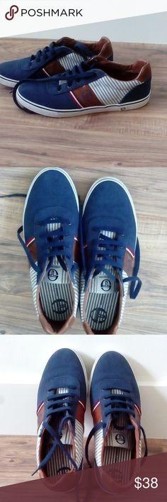 SERGIO TACCHINI men canvas sneakers   Size 10   Excellent used condition Sergio  Tacchini Shoes Sneakers a98ec07c37e