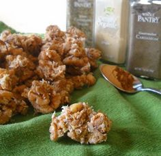 Chai Granola, Grain Free/Paleo  Have I mentioned how good this granola is???  :)  Making more....