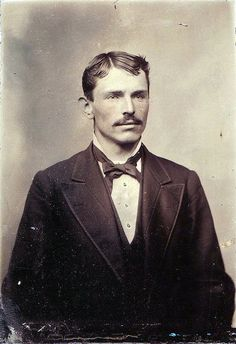 Portrait of man, circa 1870s.  A kind, respectable,  and gentle man.