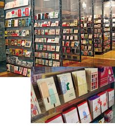 Great greeting card display for a store GIFT SHOP Magazine www.giftshopmag.com