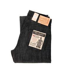 Paulrose Products Heritage 14.5oz Slub Black Selvedge Unsanforized Denim