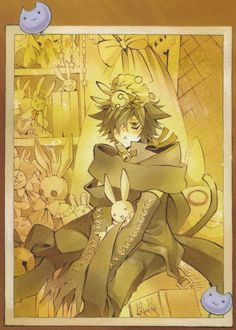 Pandora Hearts - Cheshire I NEVER SEE THINGS FOR THIS MANGA/ANIME AND HERE ONE IS!!! MY FAVORITE!