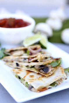 Fajita-Style Quesadillas   BHG Delish Dish