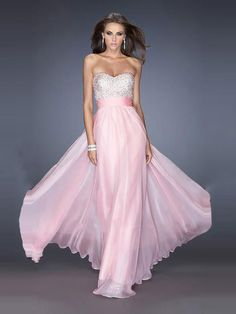 A-line Sweetheart Beading Prom Dresses/Evening Dresses #GD458