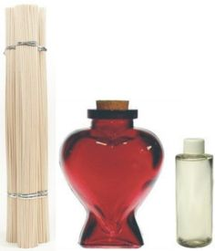 Red Heart Room Diffuser Oil Bottle Set  I have the heart shaped bottle. The other stuff is long gone.